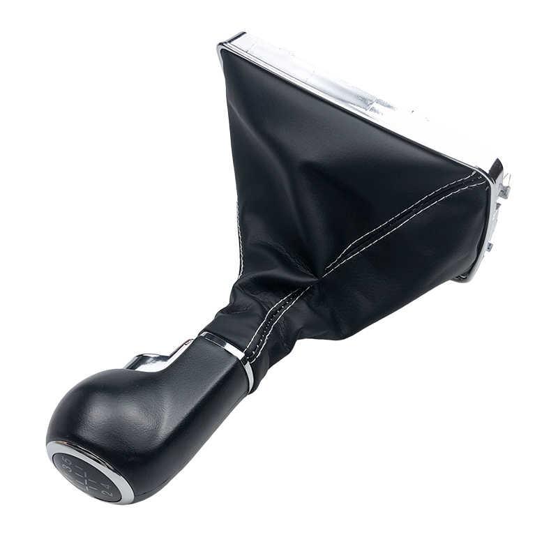 Para VAUXHALL OPEL ASTRA III H 1,6 2004 2005 2006 2007 2008 2009 2010, estilismo para automóvil, perilla de palanca de cambios de coche, Funda de cuero para botas