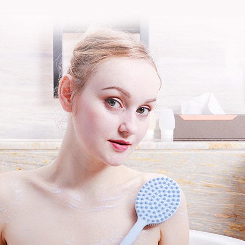 punho longo massagem limpeza volta para chuveiro banheiro