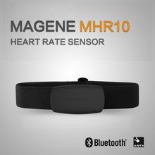 MAGENE Bluetooth4.0 ANT + معدل ضربات القلب الاستشعار متوافق GARMIN Bryton IGPSPORT الكمبيوتر تشغيل الرياضة الدراجة معدل ضربات القلب شريط للصدر