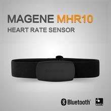 MAGENE Sensor de ritmo cardíaco Bluetooth 4,0 ANT +, Ordenador Compatible con GARMIN, Bryton, IGPSPORT, para correr, bicicleta, correa para el pecho