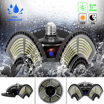 UFO Bulb LED Light Garage Lamp Led Deformable Warehouse Basement Light E27 Smart Sensor Industrial Lighting Led Waterproof Lamp