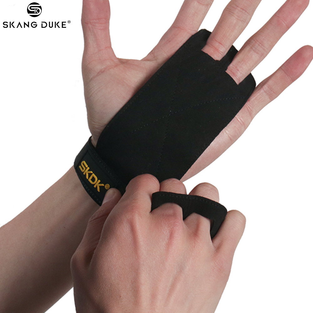 Gym Gloves Hand Grip Gymnastics Anti-Skid Fitness Weightlifting Crossfit J