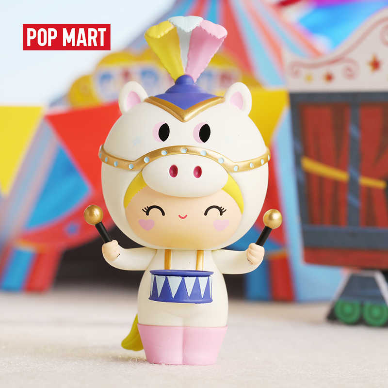 Muñecos POP MART Momiji serie circo juguetes figura acción figura Regalo de Cumpleaños chico juguete envío gratis