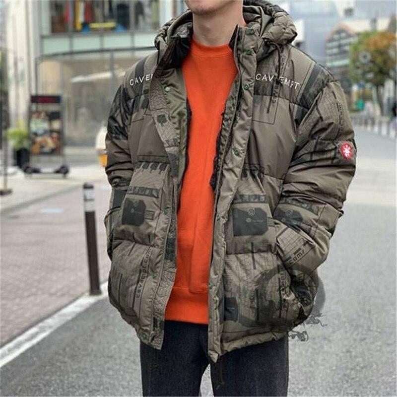 TOP CAV EMPT C.E CE Embroidery Bomber Jacket Men Women Jackets Coat Keep warm in winter CAVEMPT Streetwear Jacket