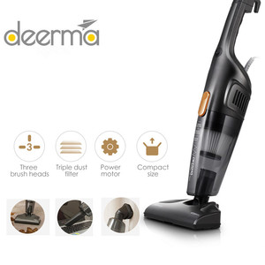Origina Deerma Portable Handheld Vacuum Cleaner Household Silent Vacuum Cleaner Strong Suction Home Aspirator Dust Collector