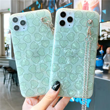 Suitable forIphone11Promax mobilephone shell matcha green shell pattern love XSXR anti-fall 7plus 8plus soft cover all-inclusive