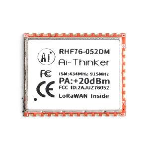 Image 2 - SX1276 SX1278 LoRa Module RHF76 052 RHF78 052 LoRaWAN Node Module STM32 433mhz 470mhz 868mhz 915mhz Low Power Long Distance