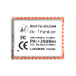 Image 2 - SX1276 SX1278 לורה מודול RHF76 052 RHF78 052 LoRaWAN צומת מודול STM32 433mhz 470mhz 868mhz 915mhz נמוך כוח ארוך מרחק