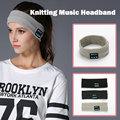 Sports Antiperspirant Belt Knitting Music Headband Wireless Bluetooth Headset Earpiece Mic for Sleep Yoga Running Gym Hairband