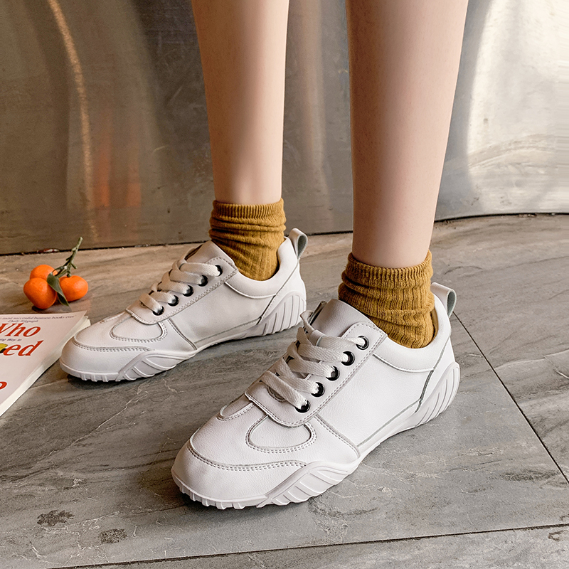 White Sneakers Women Soft Platform Fashion Woman Shoes Ladies Female 2019 New