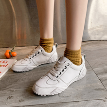 White Sneakers Women Soft Platform Sneakers Fashion Woman Shoes Sneakers Ladies Female Sneakers Women Shoes Sneakers 2019 New sneakers parodi sunshine sneakers