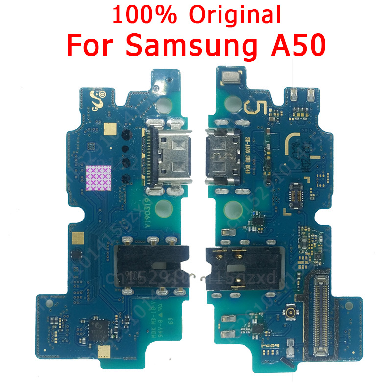 Original Flex Board For Samsung A50 Charging Port For A 50 Charger Board USB Plug PCB Dock Connector Spare Parts