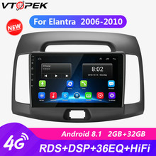 9  4G Wifi Android 8.1 Car Radio for Hyundai Elantra 2006-2010 DSP RDS Touch Screen GPS Navigation with Frame Autoradio 2 Din eincar android 6 0 car stereo 1080p touch screen double din car autoradio head unit gps navigation 4g wifi obd2 fm am rds radio