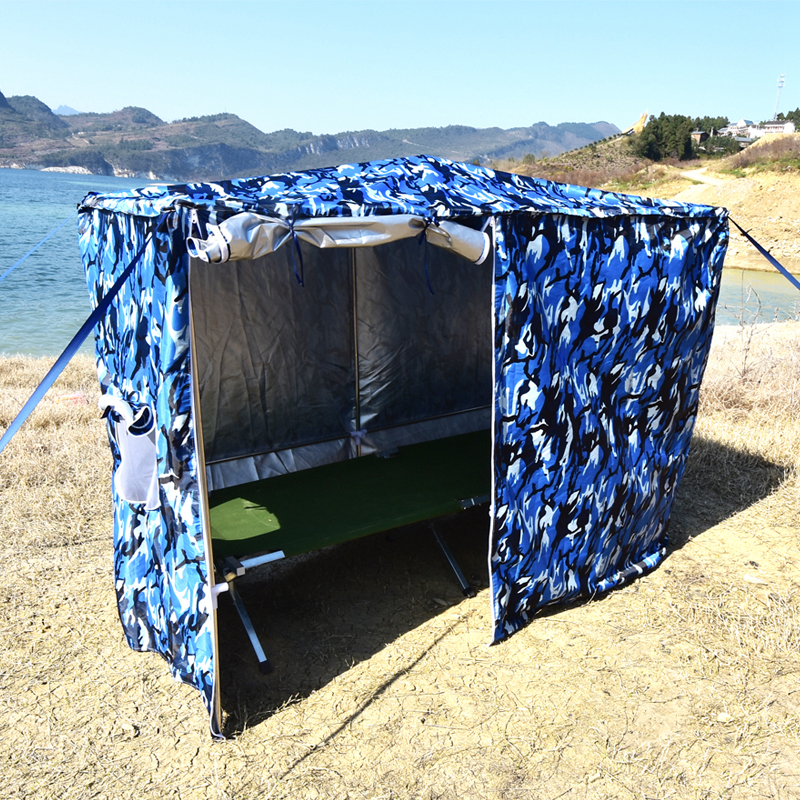 Outdoor Large Space Portable Camping Tent Quick Automatic Opening  Tent Camouflage Hunting Fishing Beach Tent Size 200 *90 *85cm
