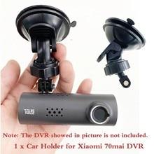 Soporte de taza de succión portátil para xiaomi 70mai, soporte de cámara de coche DVR, WiFi, grabadora de conducción, 1 Uds.