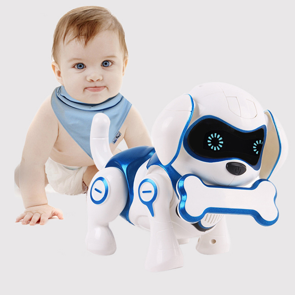 Robot Dog Electronic Pet Toys Wireless Robot Puppy Smart Sensor Will Walk Talking Remote Dog Robot Pet Toy For Kids Boys Girls image