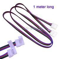 Cable de extensión para conector de tira LED RGB 5050, 1m, venta al por mayor