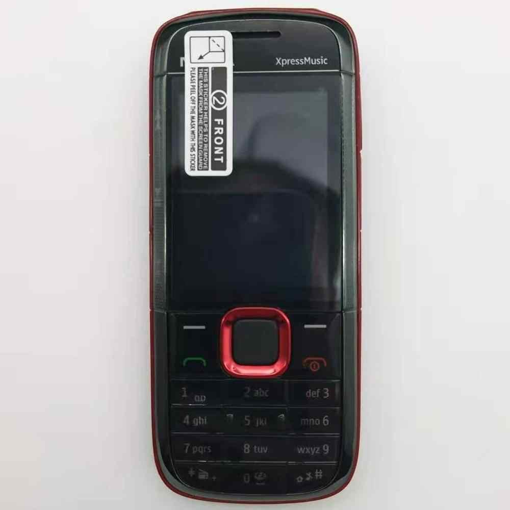 מקורי נוקיה 5130 XpressMusic רוסית מקלדת טלפון נייד משלוח חינם
