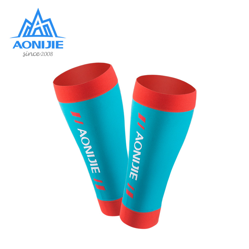 AONIJIE-E4405-Knit-Compression-Leg-Calf-Sleeves-Socks-Shin-Splint-Support-Relief-For-Running-Jogging-Marathon