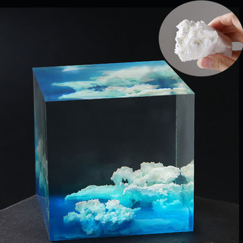 DIY Simulation Cloud Filling Crystal Epoxy Jewelry Accessories For Epoxy Resin Tools DIY Jewelry Making  Handmade Accessories 1