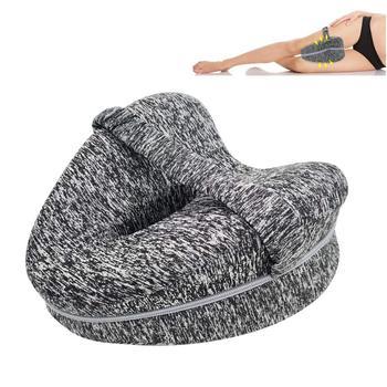 Poduszka ortopedyczna do spania z pianki memory noga pozycjoner poduszki poduszka podtrzymująca kolana między nogami na ból biodrowy rwa kulszowa tanie i dobre opinie Beautrip Ciało Pościel 400TC Stałe Foam Polyester Cotton BM67 Heart Therapy Body 0-0 5 kg Qualified memory foam knee pillow