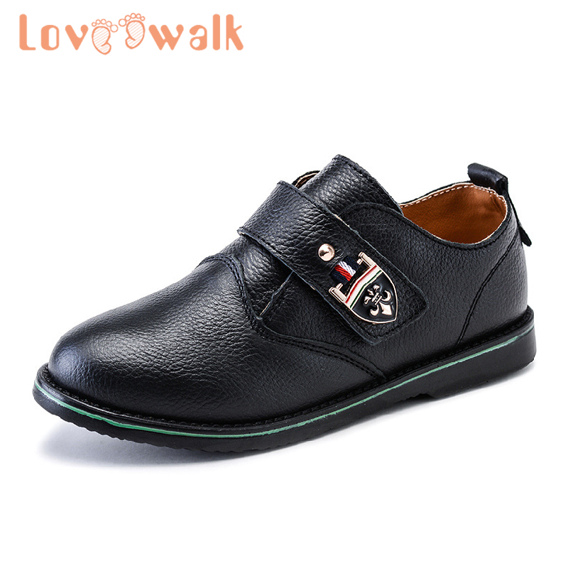 Girls Shoes Princess Rubber Kids Leather Shoes Children Flats Black Boys Dress Shoes New School Shoes Sneakers For Weeding Party