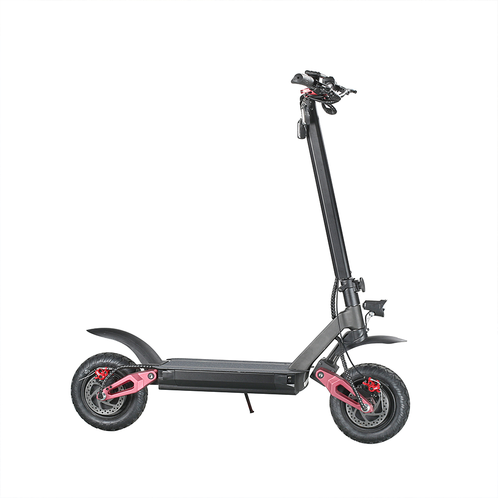 Off road <font><b>electric</b></font> <font><b>scooter</b></font> 3600W Dual <font><b>motor</b></font> Max Speed 75km/h Double Drive 10 inch Off-road Tire Folding E-<font><b>Scooter</b></font> 20Ah Battery image