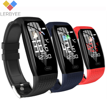T5 Smart Band Body Temperature Weather Reminder Fitness Tracker Watch Heart Rate Sleep Monitor Smart Bracelet Sport 2020 Hot