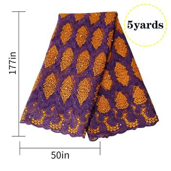 Bridal Lace Fabric | 2019 High Quality Exquisite Embroidery Lace Fabric For Bridal Gown Wedding Fabrics DIY Dress Material African Lace