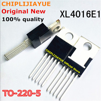 2PCS XL4016E1 XL4016 TO-220-5 4016E1 TO220-5 New and Original IC Chipset - discount item  10% OFF Active Components