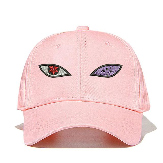 Naruto Uchiha Sasuke Sharingan Rinnegan Eye Cotton Cap Baseball