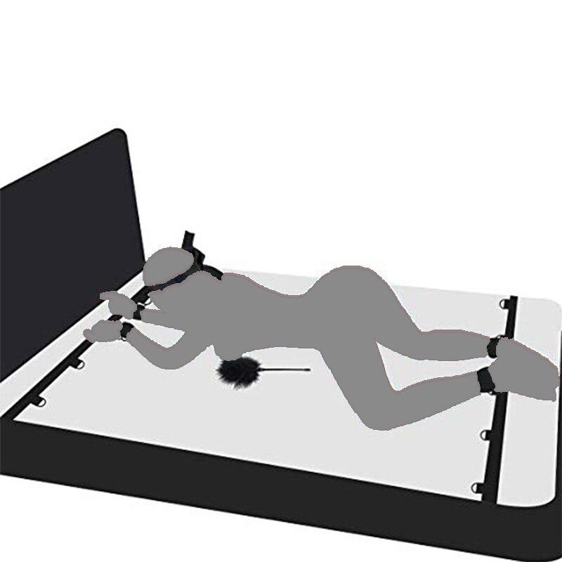 Acessórios eróticos bdsm algemas tornozelo fetiche escravo castidade sexo balanço adulto jogos brinquedos sexuais para mulher casal produtos do sexo