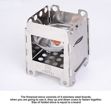 Firewood Stove Portable Outdoor Camping Alcohol Plate Stove Lightweight Folding Picnic Stove Cooking Burners Stainless Steel new lcd replacement for nokia lumia 640xl lcd diaplay screen touch digitizer assembly with frame free shipping