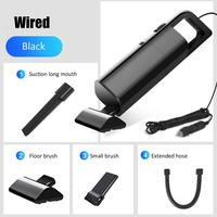 Car Vacuum Cleaner 12V Wireless High Power 120W Car Strong Wet And Dry Dual Use Household Car Vacuum Cleaner|Car Washer|   -