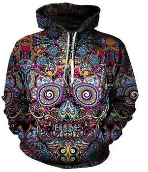 PLstar Cosmos Skull hoodie 3D Hoodie Hoodies Men Women New Fashion Autumn Hooded Sweatshirt 2018 Long Sleeve Pullover sherlock holmes hoodie sherlock holmes hoodies long sleeve polyester pullover hoodie fashion hoodies