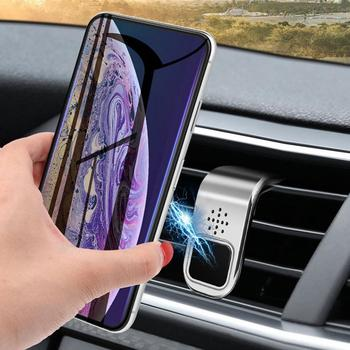 Universal Car Vehicle Air Outlet Mount Magnetic Fragrance Mobile Phone Holder Car Holder Suction Cup Vehicle Cell Phone Cradle image