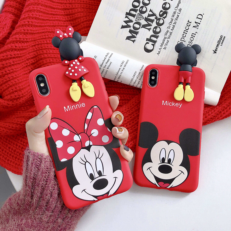 Cartoon Print Soft Case For SamsungGalaxy S20 J4 <font><b>J6</b></font> J8 A6 A7 A8 <font><b>Plus</b></font> A9 <font><b>2018</b></font> Note 10 8 9 S7 Edge S8 S9 S10 S20 5G S10E Cases image