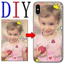 DIY Custom Photo Name Phone Case For Samsung