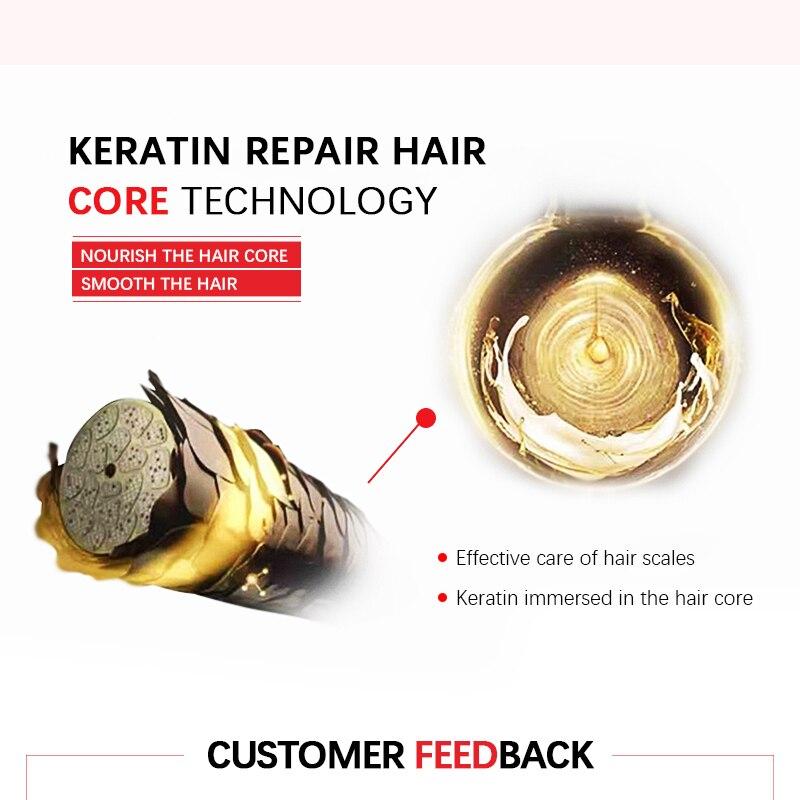 tratamento 1000ml + 300ml purificar shampoo lcd cabelo liso ferro