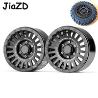 "2PCS Metal 2.2"" Beadlock Wheel Rim for 1:10 RC Crawler Axial 90046 SCX10 Tamiya CC01 D90 RR10 VP VS4 10 RC Car S01"
