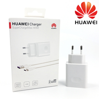 Huawei P30 Pro Fast Charger Original 40W 10V / 4A EU SuperCharge adapter usb 5A Type C cable Mate 20 10 pro Honor Magic 2 Nova 5