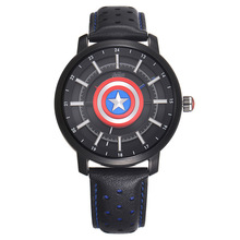 Disney Kids Quartz Wristwatch Marvel Cartoon Boys Watches Ca