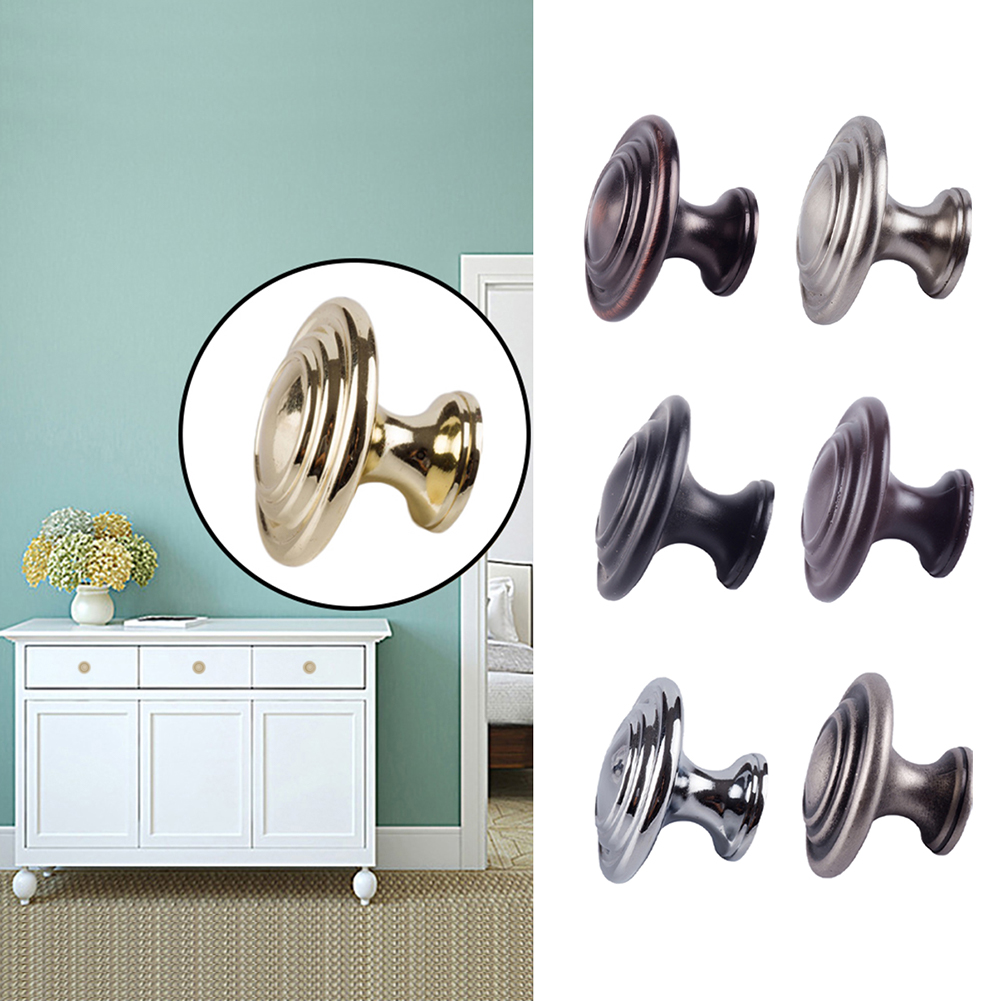 PVC Draw Handles Furniture Accessory Cabinet Vintage Door Handle House Traditional Kitchen Cupboard Wardrobe Drawer Knobs New