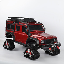 RC TRX4 треки колеса сандмобиль преобразования снега шины для 1/10 RC Traxxas Trx4 обновления частей