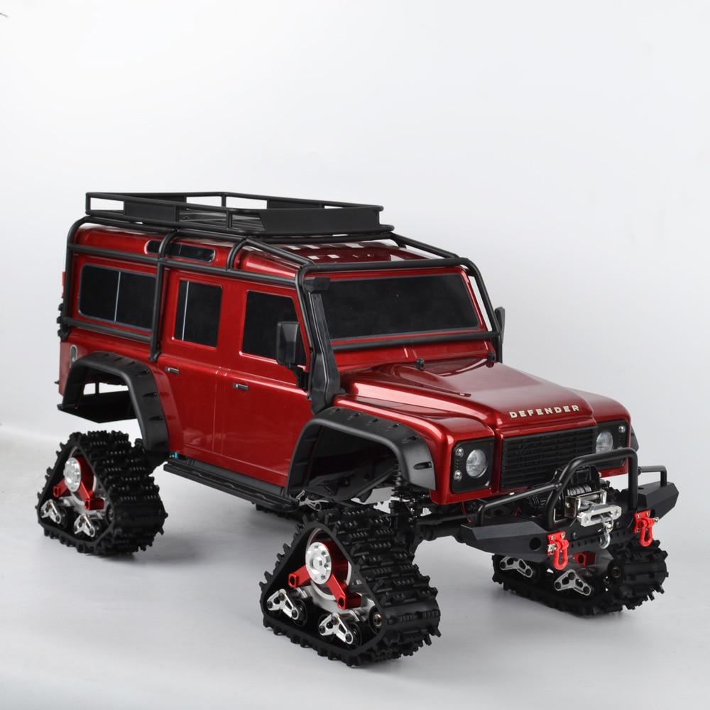 RC TRX4 Tracks Wheel Sandmobile Conversion Snow Tire For 1/10 RC Traxxas Trx4 Upgrade Parts