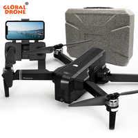 Global Drone 2K Profissional Me sigue RC 5G Wifi FPV tiempo volar giroscopio GPS Drones con cámara HD del SJRC F11 PRO