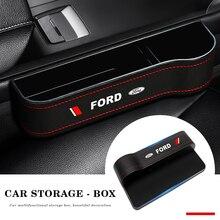 Auto Sitz Spalt Lagerung Box Tasse Sitz Lücke Tasche Organizer Telefon Halter Zubehör Für Ford Focus MK2 MK3 MK5 MK7 ranger Fiesta