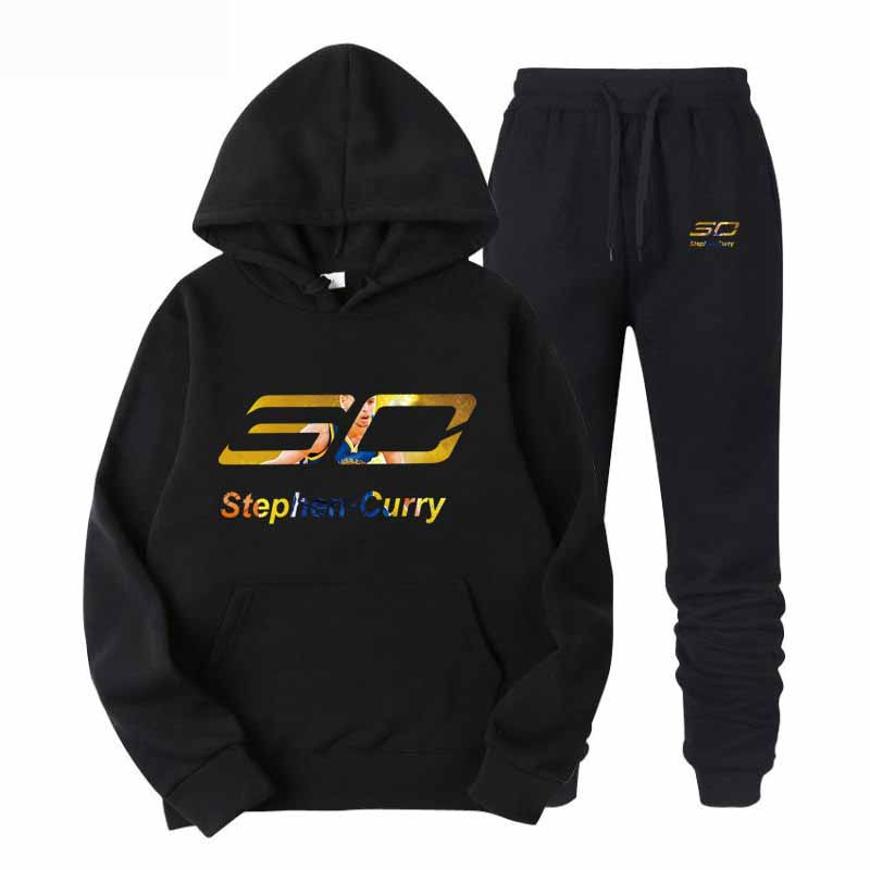 Golden State Warriors 30 Men And Women Pullovers Hoodies Sweatshirt Golden State Clothing Streetwear Casual Tracksuit