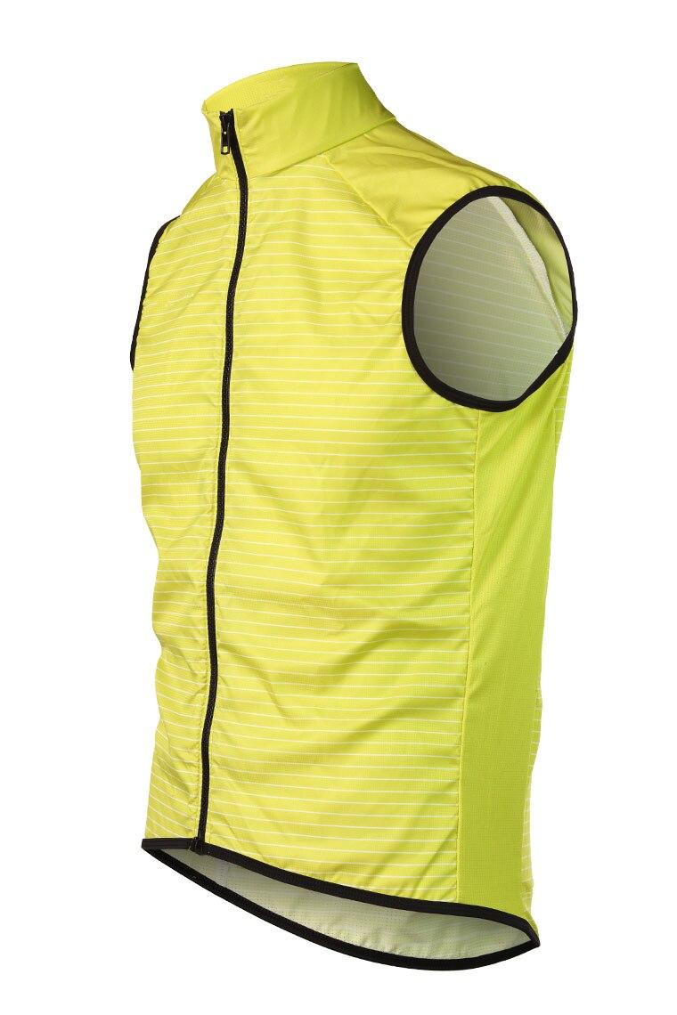 RockBros Cycling Wind Vest Windvest Sleeveless Sports Jersey Orange