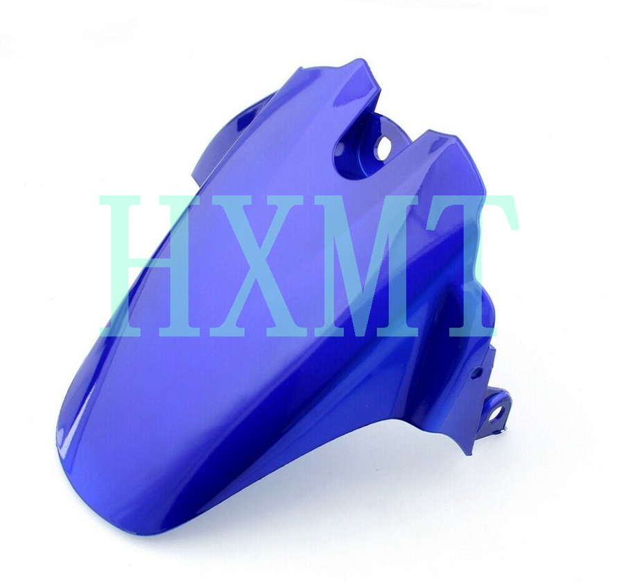 For Suzuki GSXR 600 750 K6 K8 2006-2010 2008 Blue GSX-R Motorcycle Rear Wheel Hugger Fender Mudguard Mud Splash Guard GSXR600